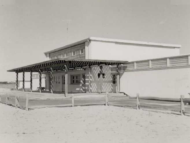 The Bath House, Herring Cove Beach, Provincetown, MA 1973 Courtesy of Cape Cod National Seashore Archives