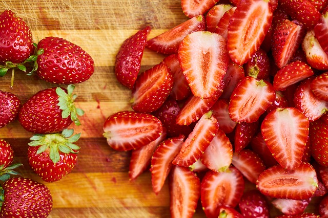 Strawberries aren't just yummy, they're great for your skin and immune system too!