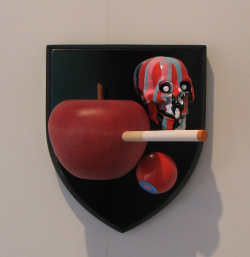 Wayne Youle  Family Crest , 2009 Mixed media [Private collection]   _______