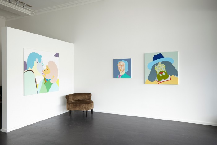 Installation view  Wayne Youle , 2015 {Suite}, Wellington   _______