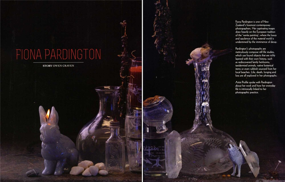 Fiona Pardington Owen Craven, 'Fiona Pardington',Artist Profile, Australia, Issue 28 2014