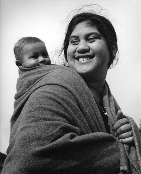 Ans Westra  Betty Tawhi, Ruatoki , 1963 Signed silver gelatin print 260 x 220 mm   _______