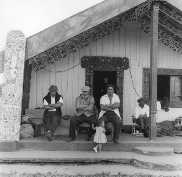 Ans Westra  Ringatu Hui, Ruatoki , 1963 Signed silver gelatin print 185 x 187 mm  _______
