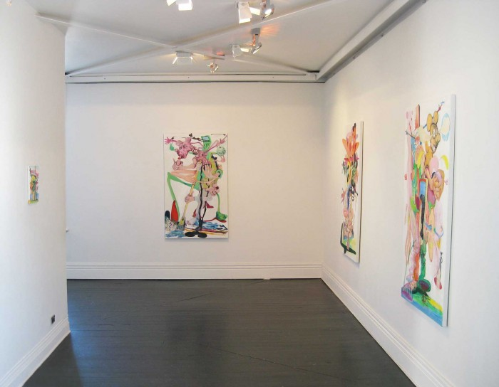 Installation View Tom & Jerry at The Window, 2014 {Suite} Gallery, Wellington   _______