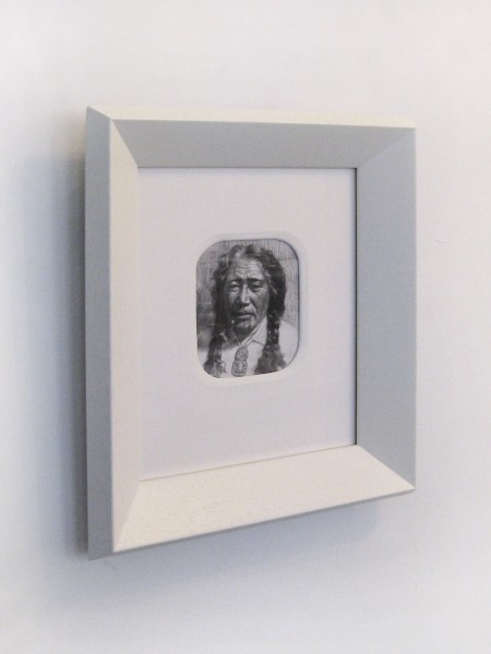 Robin Morrison  Goldie035 , c.1977 Framed silver gelatin print 350 x 310 mm  _______