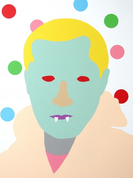 Wayne Youle  What I would do for a Hollywood nose , 2014 Acrylic on board 800 x 606 mm  _______