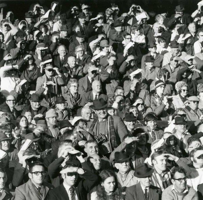 Ans Westra  British Lions vs All Blacks, Athletic Park, Wellington , 1971 Signed silver gelatin print 280 x 275 mm [Private collection]   _______