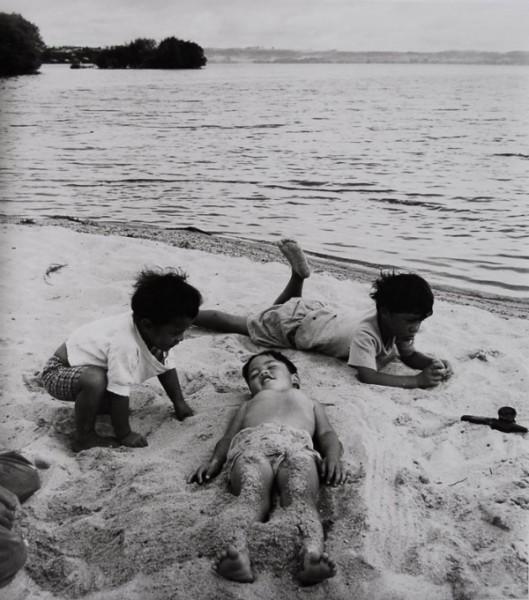 Ans Westra  Lake Rotorua , 1963 Signed silver gelatin print 285 x 250 mm  _______