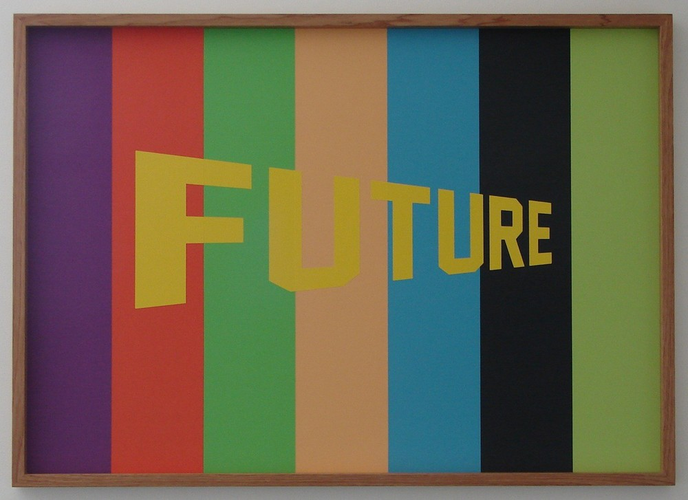 Wayne Youle  Don't Know About You But I Like It,  2013 Acrylic on board 605 x 850 mm [Private collection]   _______
