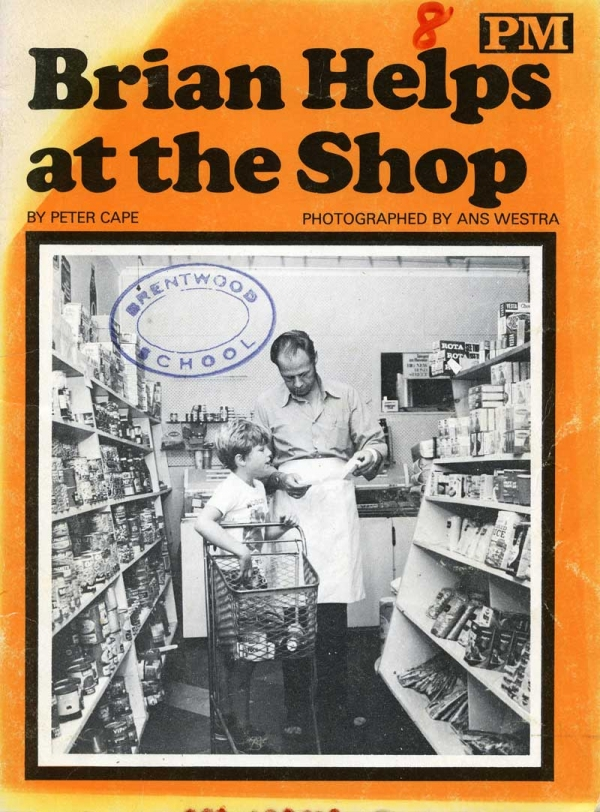 Ans Westra  Brian Helps at the Shop , 1974 NZ$70.00 including gst (signed copy)  [Order]  ______