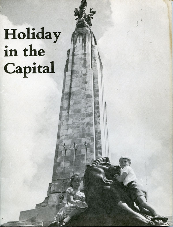 Ans Westra  Holiday in the Capital , 1968 NZ$70.00 including gst (signed copy)  [Order]  ______
