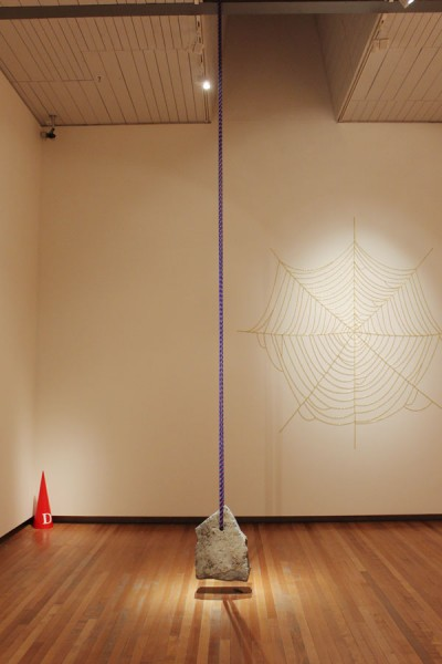 Wayne Youle Installation in the Hirschfeld Gallery, City Gallery Wellington   _______