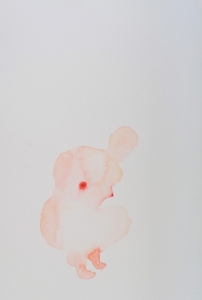 Julia Croucher  Figure Study 6 , 2011 Watercolour on paper 760 x 560 mm   _______