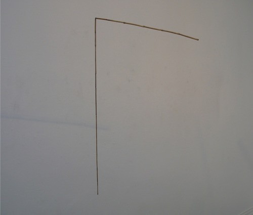 Rob Cherry  Untitled (right angle) , 2012 Mixed media [Private collection]   _______