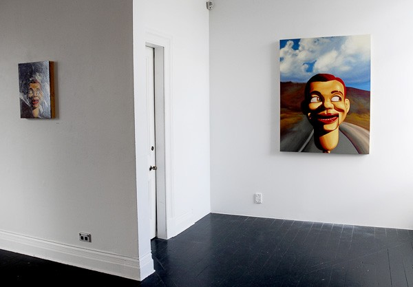 Installation view  Painter Speaks , 2011 {Suite}, Wellington   _______