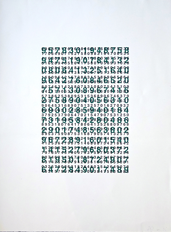 Anton Parsons  Untitled , 2007 Screen print on paper 760 x 570 mm  _______
