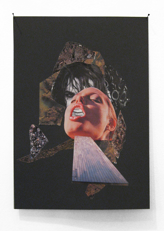 Rob Cherry  Dirt , 2014 Collage 300 x 210 mm $420 incl. GST  _______