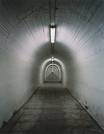 Neil Pardington  Tunnel #4 , 2004 Framed LED/C print 1200 x 1000 mm $6,800 incl. GST Edition of 15  _______