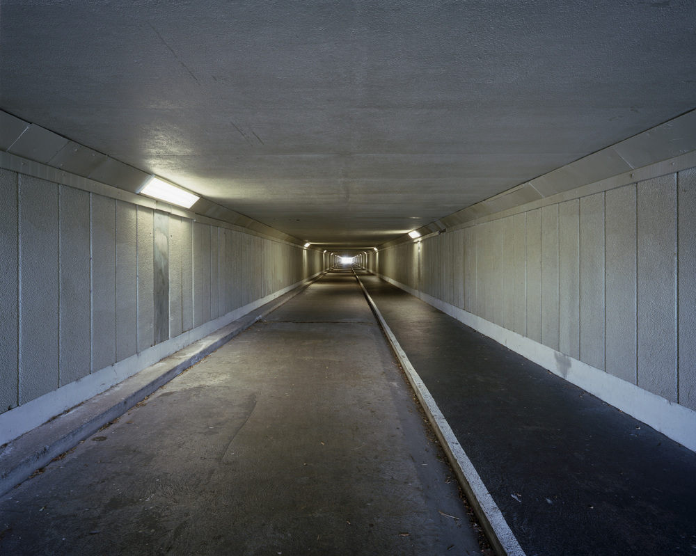 Neil Pardington  Tunnel #5 , 2011 Framed pigment print on Hahnemuhle photo rag 800 x 1000 mm image size $6,800 incl GST Edition of 10  _______