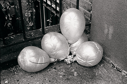 Neil Pardington  Balloons , 1998 Framed silver gelatin print 655 x 440 mm $4,500 incl. GST Edition of 10 (+2 AP)  _______