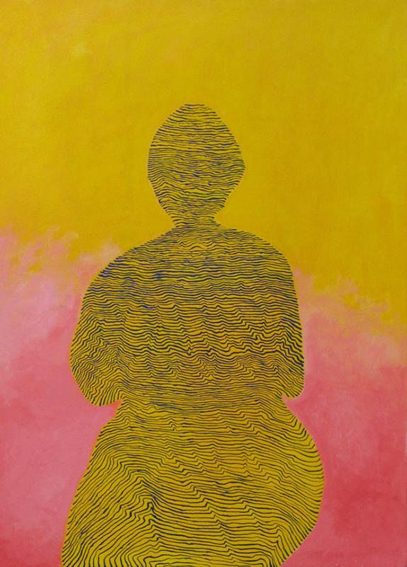 Arie Hellendoorn  Lost World , 2008 Oil on linen 920 x 660 mm $4,500 incl. GST  _______