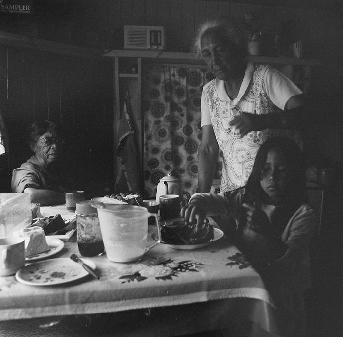 Ans Westra  Te Kao, North Cape , 1983 Silver gelatin print 248 x 254 mm  _______