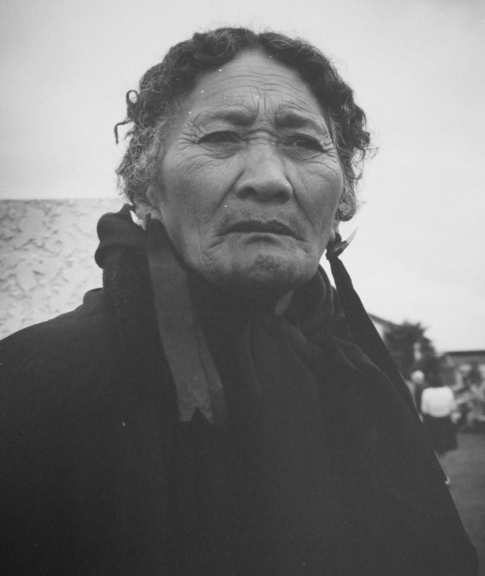 Ans Westra  Putiki Marae, Whanganui , 1963 Silver gelatin print 377 x 305 mm  _______