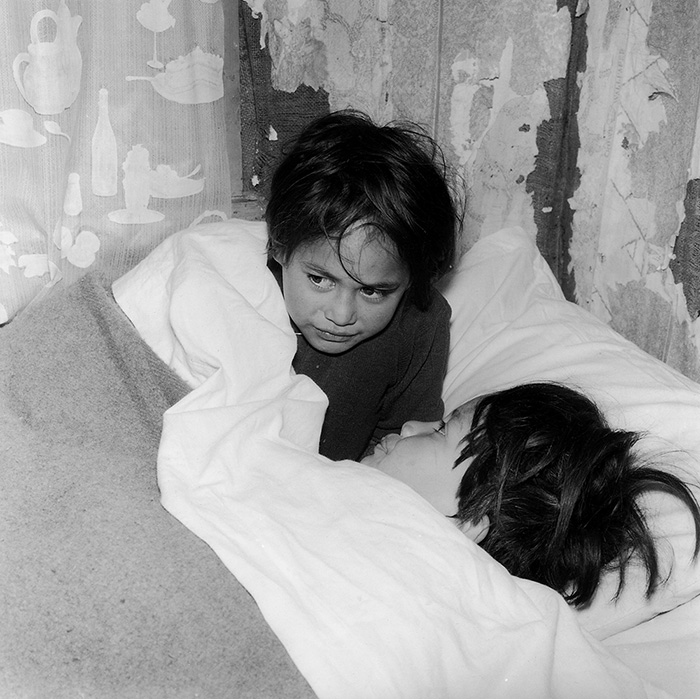 Ans Westra  Ruatoria , 1963 (from 'Washday at the Pa') Silver gelatin print 250 x 253 mm $5,800 incl. GST  _______