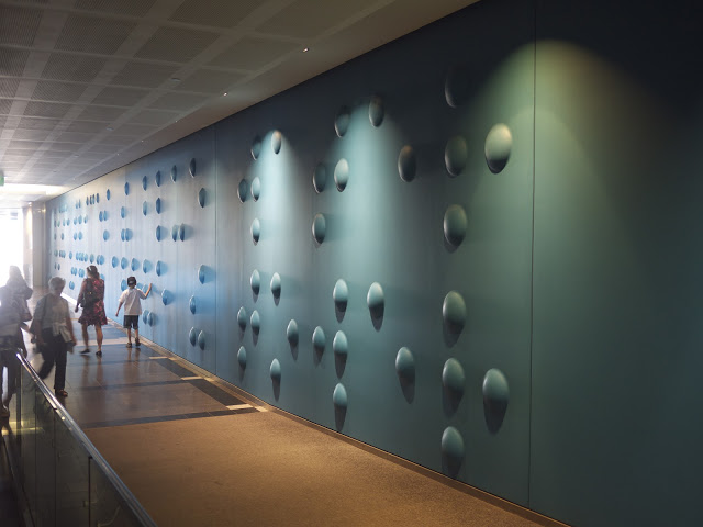 Anton Parsons  Gone Fishing,  2002 Acrylic, aluminium, fiberglass [PWC Building, Auckland, NZ]  _______