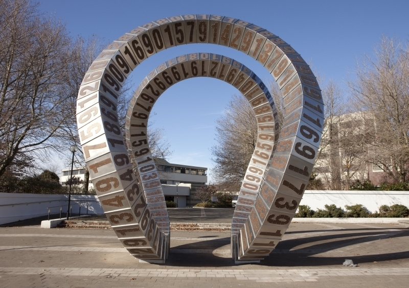 Anton Parson  Passing Time , 2011 Stainless steel and copper [CPIT, Christchurch, NZ]  ______