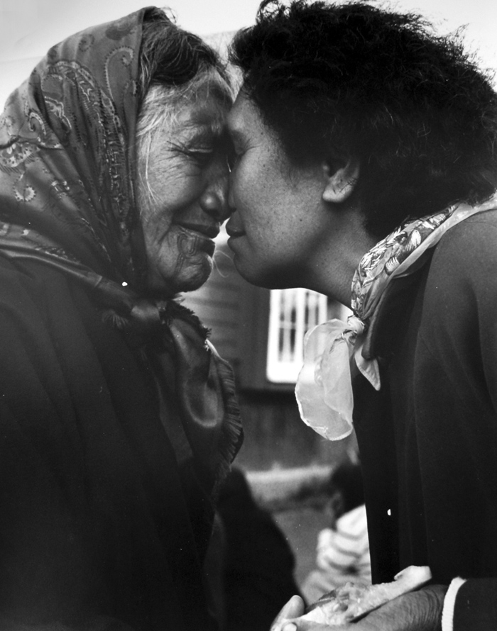 Ans Westra  Turangawaewae Marae, Ngaruawahia , 1963 [No prints available]  _______
