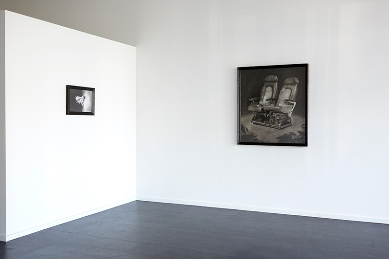 Installation view Douglas Stichbury:  Punctum Field  {Suite}, Wellington  _______