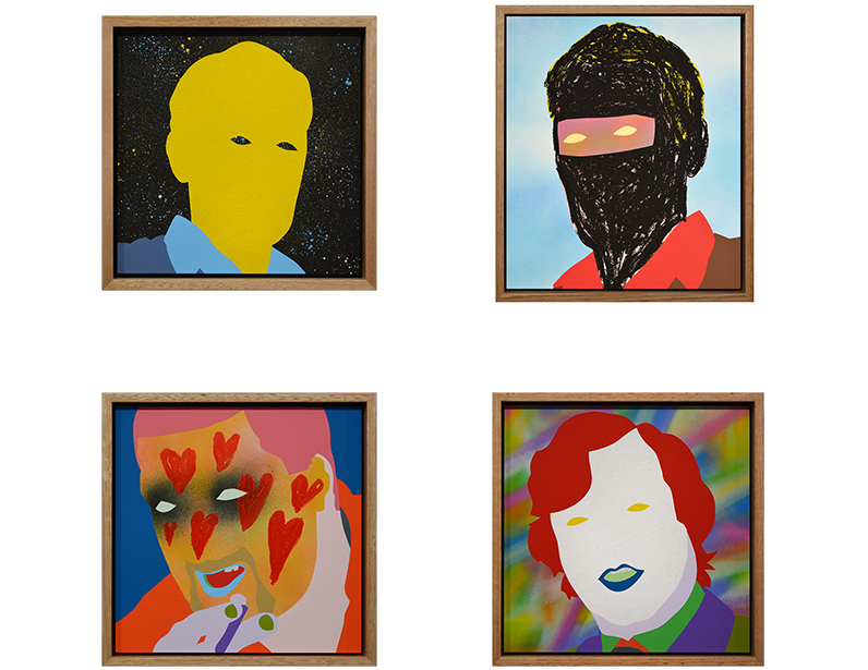 Wayne Youle Framed examples  _______