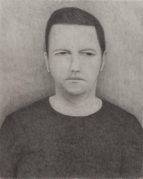 Richard Lewer  It's hard to argue with the inescapable logic your own voice uses when it calmly lays out the reasons why you shouldn't exist , 2016 Graphite on museum rag board 1020 x 850 mm  _______