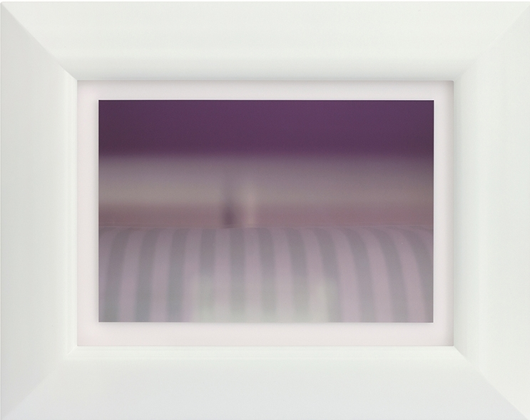 Emily Hartley-Skudder  Soft Stripes , 2016 Framed digital C-Print 250 x 375 mm (print size) 480 x 600 mm (framed size)  _______