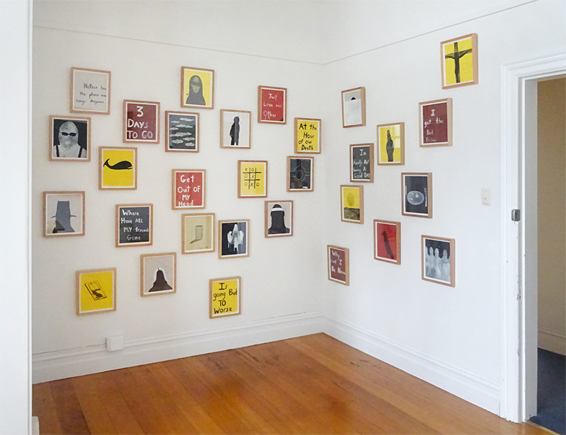 Installation view Richard Lewer {Suite}, Wellington  _______