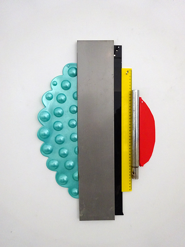 Rob Cherry  Goo Goo Gaga , 2017 Wall sculpture 594 x 396 mm  _______