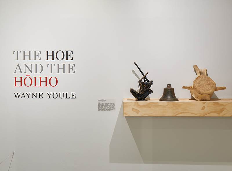 Wayne Youle  The Hoe and The Hoiho  Installation view  ______