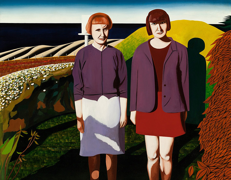 Jeffrey Harris  Mother and Daughter at Okain's Bay , 1996/2015 [Private collection, Christchurch]  _______
