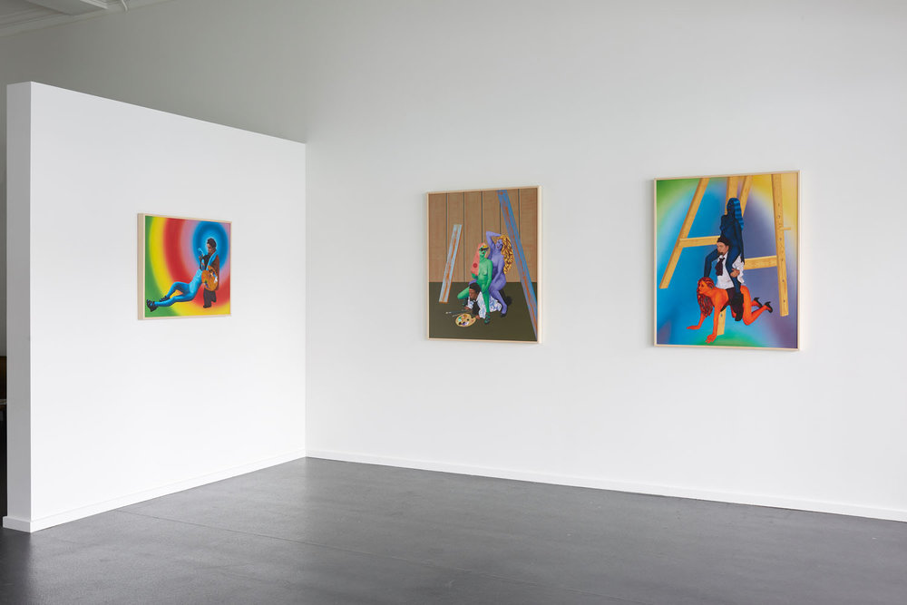 Roger Boyce  School of Harm  Installation view {Suite}, Wellington  _______