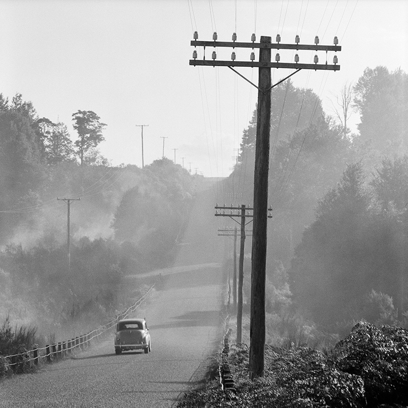 Ans Westra  West Coast Road, West Coast , 1971 Pigment print on Hahnemuhle Photo Rag 380 x 380 mm Edition of 25 $1,800 incl. GST  ______
