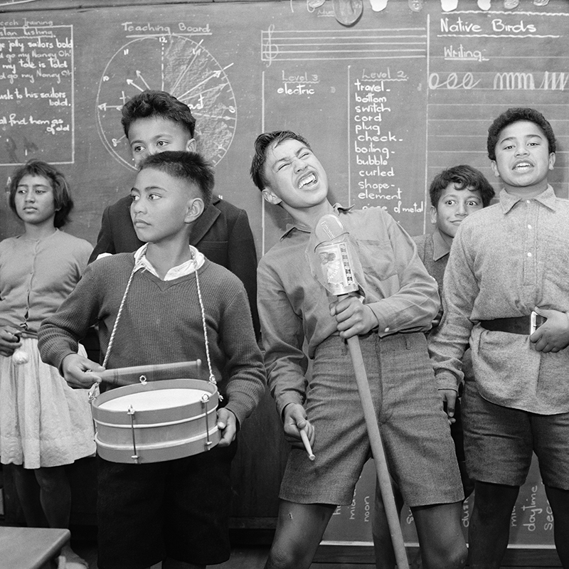 Ans Westra  School students performing , 1963 Pigment print on Hahnemuhle Photo Rag 380 x 380 mm Edition of 25 $1,800 incl. GST  ______