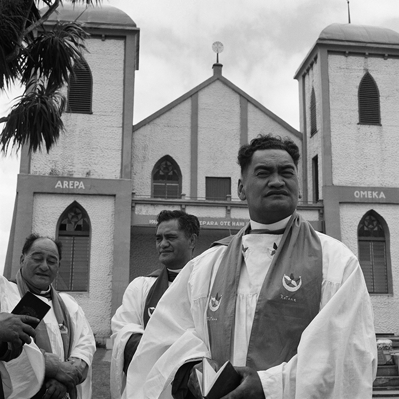 Ans Westra  January 25th Celebrations, Ratana Pa, Whanganui , 1963 Pigment print on Hahnemuhle Photo Rag 380 x 380 mm Edition of 25 $1,800 incl. GST unframed, $2,150 incl. GST framed  ______