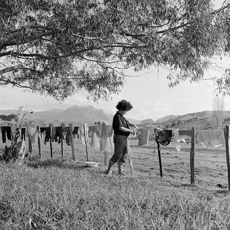 Ans Westra  Ruatoria , 1963 (from 'Washday at the Pa') Pigment print on Hahnemuhle Photo Rag 380 x 380 mm Edition of 25 $1,800 incl. GST  ______