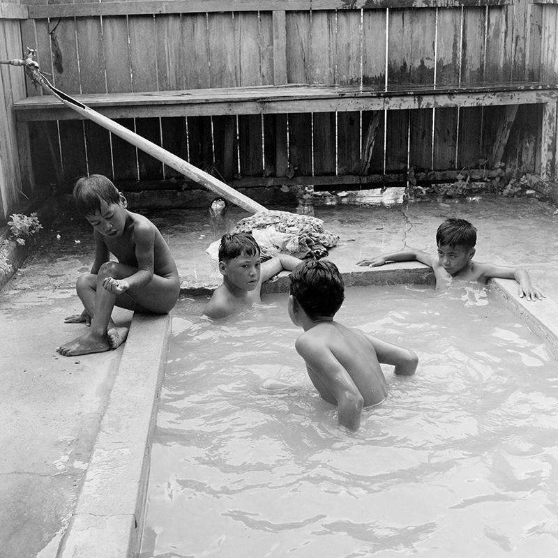 Ans Westra  Baths, Ohinemutu, Rotorua , 1963 Pigment print on Hahnemuhle Photo Rag 380 x 380 mm Edition of 25 $1,800 incl. GST  ______