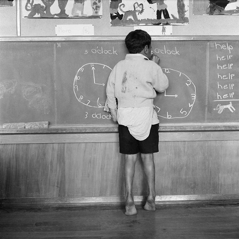 Ans Westra  Parikino School, Whanganui , 1960 Pigment print on Hahnemuhle Photo Rag 380 x 380 mm Edition of 25 $1,800 incl. GST  ______
