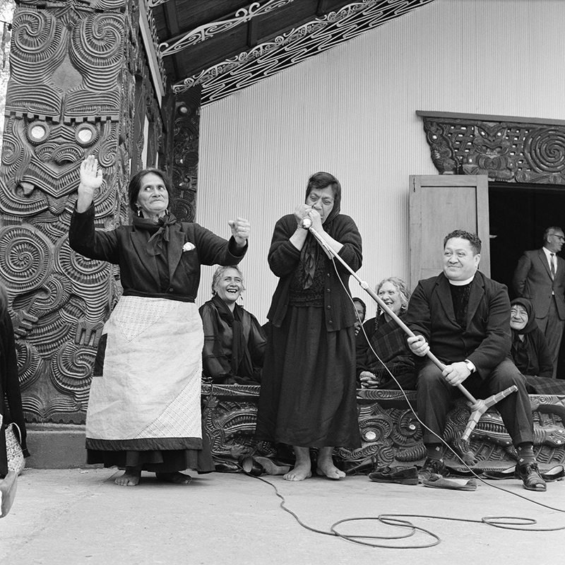 Ans Westra  Coronation Celebrations, Turangawaewae Marae, Ngaruawahia , 1963 Pigment print on Hahnemuhle Photo Rag 380 x 380 mm Edition of 25 $1,800 incl. GST unframed, $2,150 incl. GST framed  ______