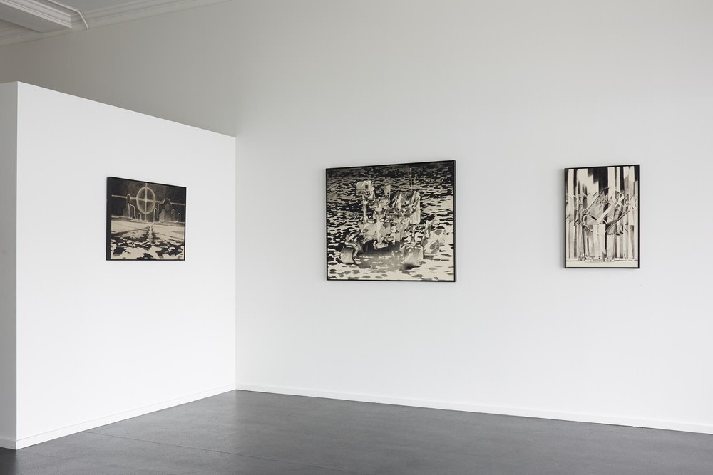 Douglas Stichbury  The Light of Other Days  Installation view {Suite}, Wellington  ______