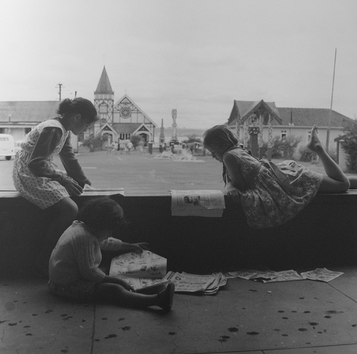 Ans Westra  Ohinemutu, Rotorua,  1963 Silver gelatin print 270 x 270 mm $6,000 incl. GST  _______