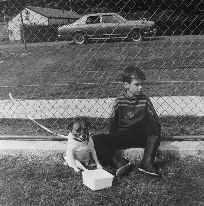 Ans Westra  Pet Day, Halfmoon Bay, Stewart Island, 1996 Silver gelatin print 298 x 298 mm $6,500 incl. GST  _______